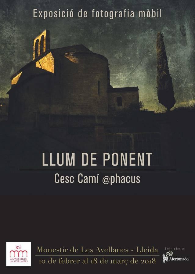 """Exposició """"Llum de Ponent"""" al Monestir de les Avellanes"""