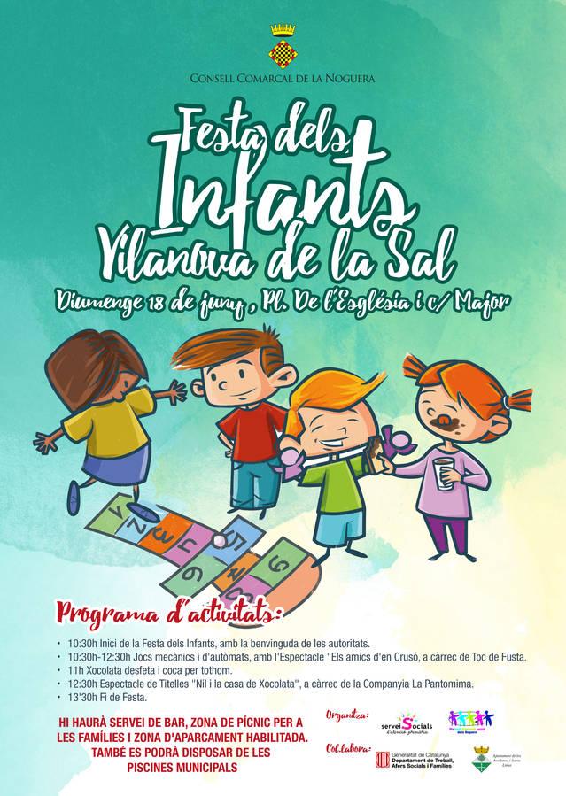 Festa dels Infants a Vilanova de la Sal el diumenge 18 de juny