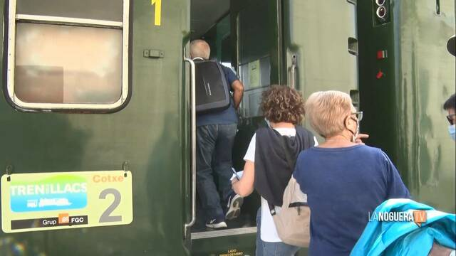 FGC suspèn el Tren dels Llacs amb el nou confinament comarcal