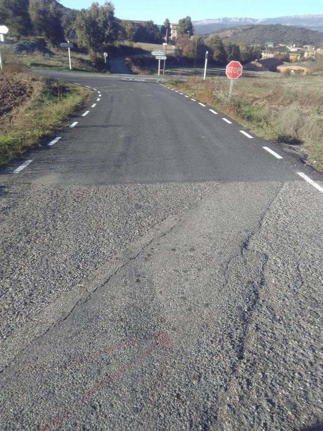 Finalitzen les obres d'arranjament del camí asfaltat de Les Avellanes a Vilanova de la Sal