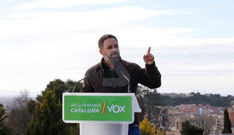 Fiscalia investiga una denúncia de Vox per un acte a Balaguer