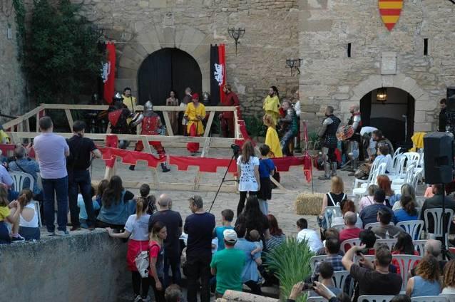 II Profight Medieval al Castell de Montsonís, el dissabte 30 de juny