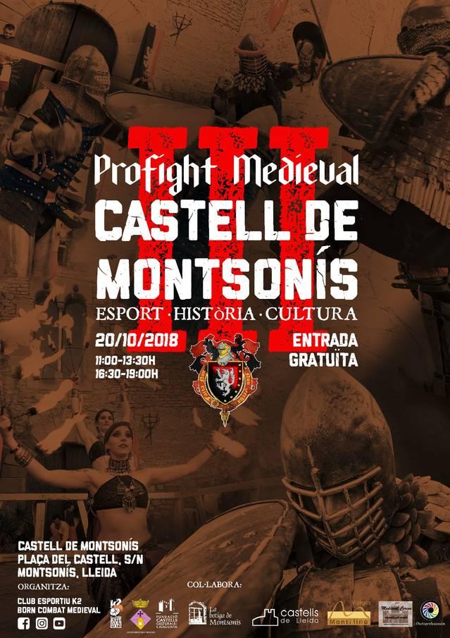 III Combat medieval al Castell de Montsonís, el dia 20 d'Octubre