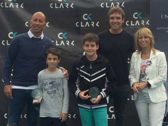 Íker Castillo i Gerard Navas, campionsdel VI Súper Gran Slam de menors del circuit de la Federació Catalana de Padel