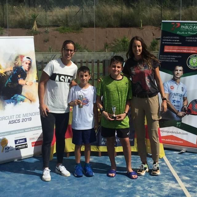 Iker Castillo i Gerard Navas, sotscampions aleví del V Super Gran Slam de Menors