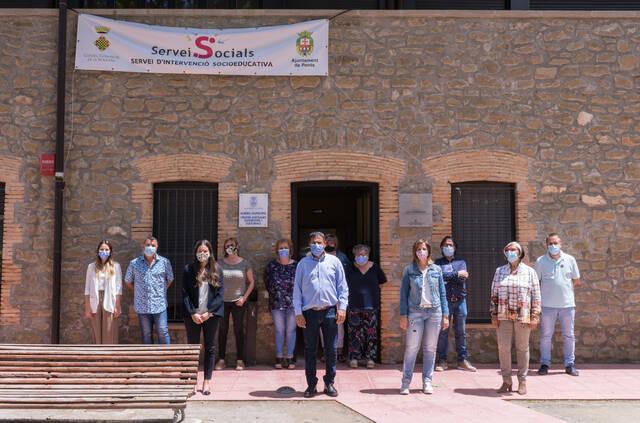 Inauguració del Servei d'Intervenció Socioeducaitva de la Noguera a Ponts
