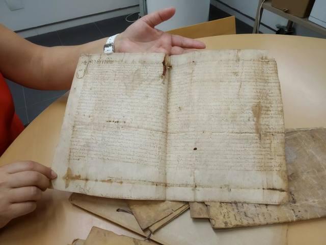 Ingressen a l'Arxiu Comarcal de la Noguera els pergamins de Santa Linya