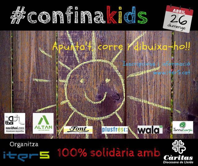 Iter5 organitza la #Confinakids, una iniciativa esportiva i solidària a benefici de Càritas