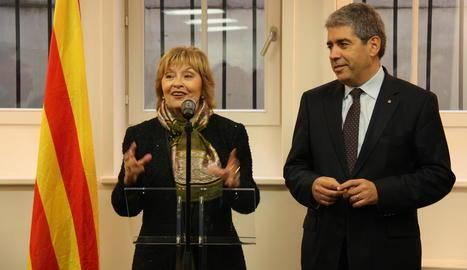 Joana Ortega i Santi Vila assistiran a un homenatge a la primera edil de Balaguer
