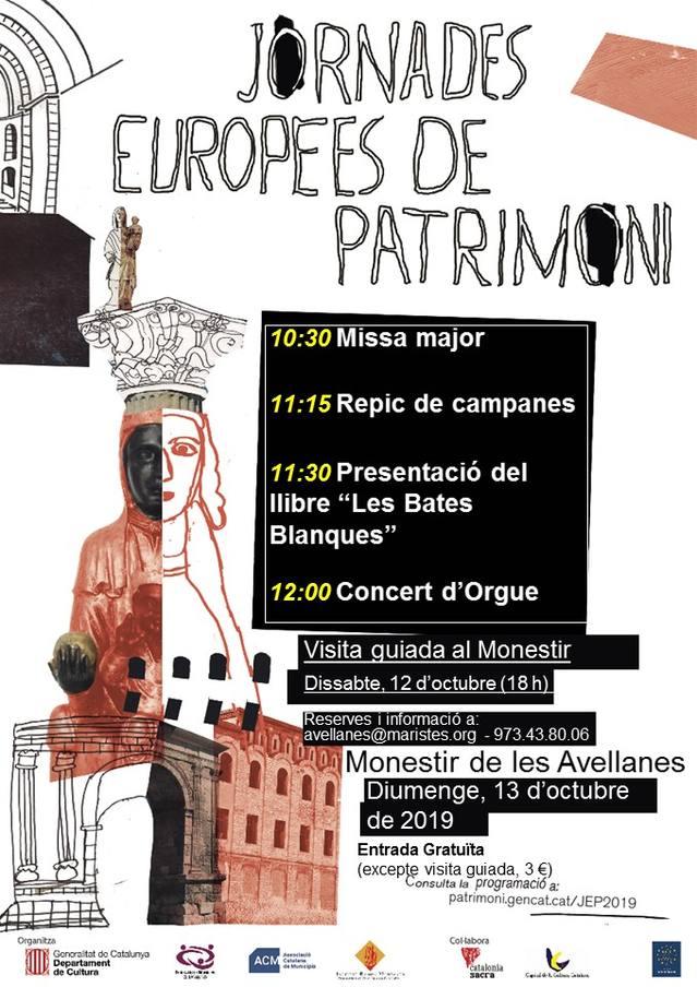 Jornades Europees del Patrimoni al Monestir de les Avellanes