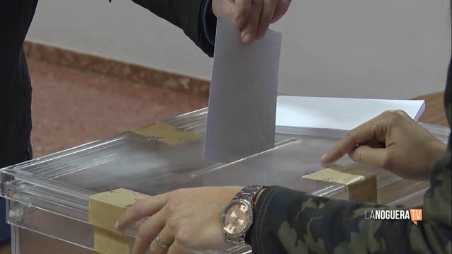 JUNTSxCAT s'imposa a la Noguera amb un 37% dels vots