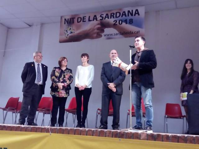 La 24ª Nit de la Sardana premia al periodista Martí Gironell