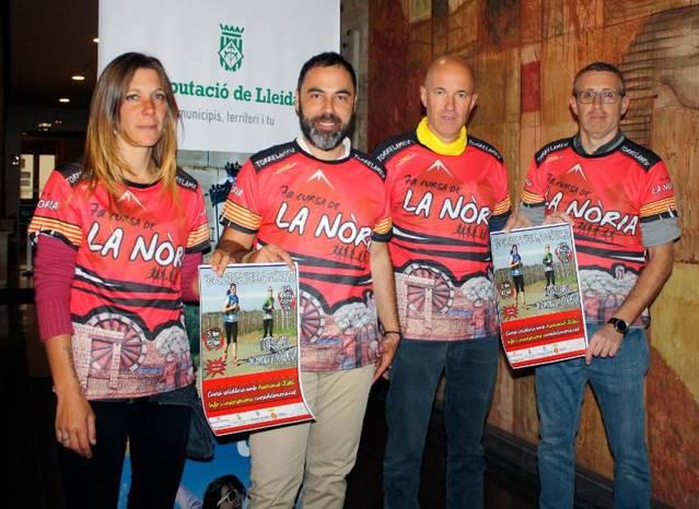 La 7a Cursa de la Nòria de Torrelameu espera més de 300 participants diumenge vinent