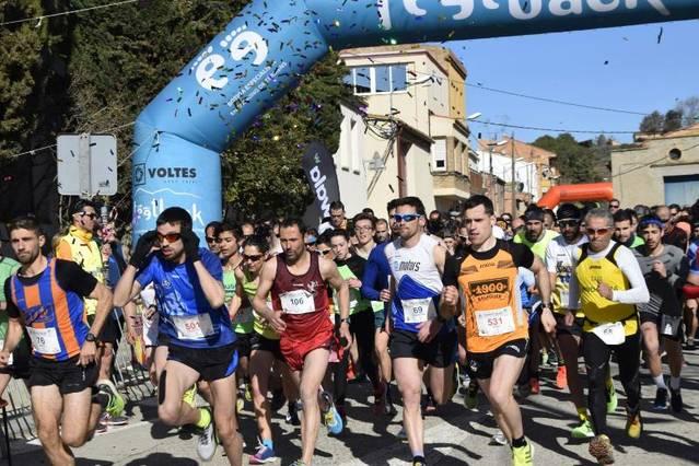 La 7ª Cursa del Sucre de Menàrguens, solidària amb l'AFANOC, per a Pere Bifet i Rosamari Carulla