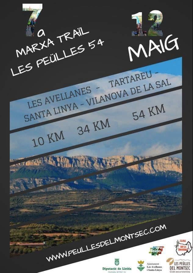 La 7a Marxa-Traïl Les Peülles 54 obre inscripcions