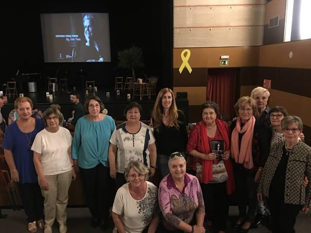 La biblioteca d'Artesa de Segre amb els actes de commemoració de l'any Teresa Pàmies
