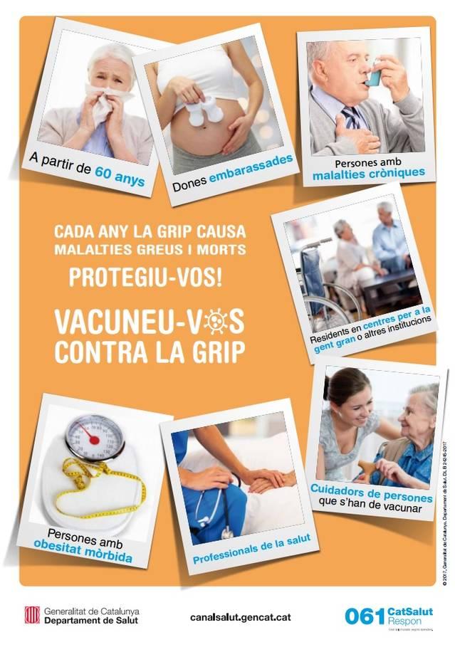 La campanya de vacunació contra la grip començarà el 23 d'octubre