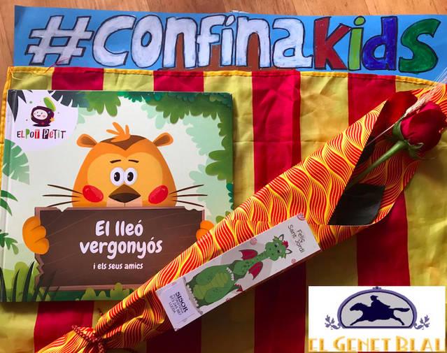 La #Confinakids amopanyarà la seva proposta esportiva amb espectacles infantils a les xarxes socials
