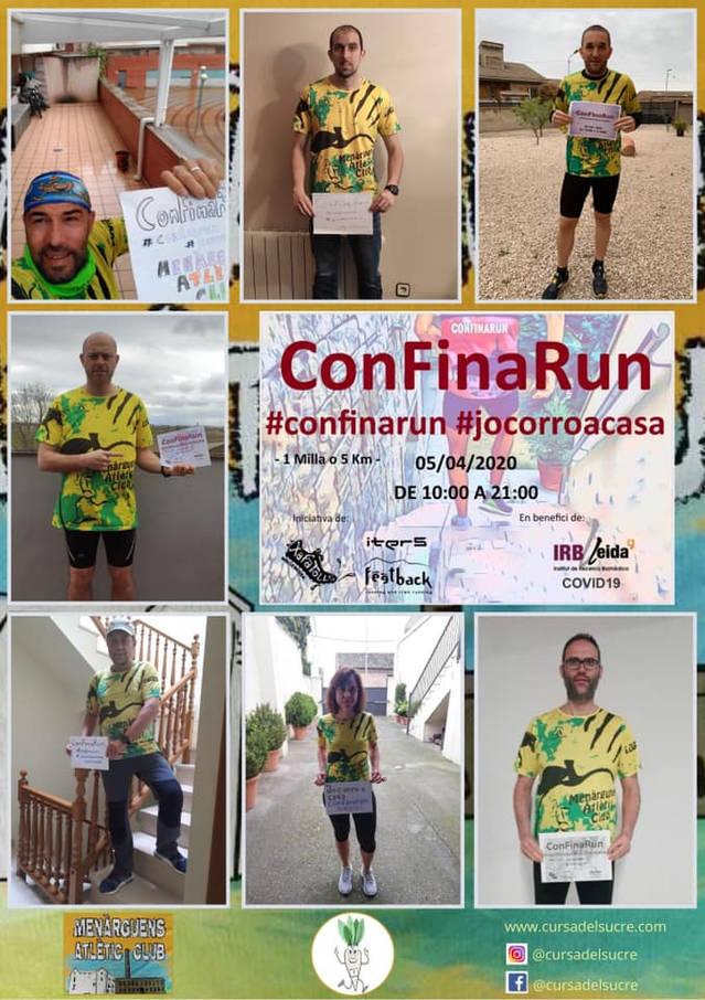 La #Confinarun aplega 2280 corredors