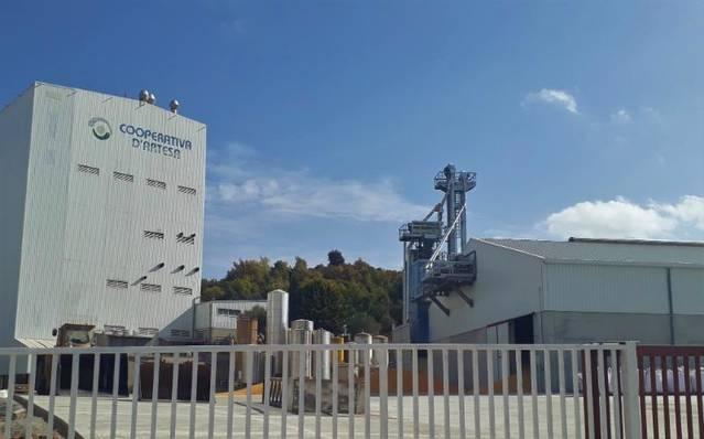 La Cooperativa d'Artesa de Segre culmina una inversió de 2,5 milions d'euros en la millora de les seves instal·lacions