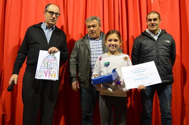 La Cooperativa d'Artesa de Segre premia un dibuix de l'Escola Els Planells per incorporar-lo a l'etiqueta del vi jove Menut Montsec