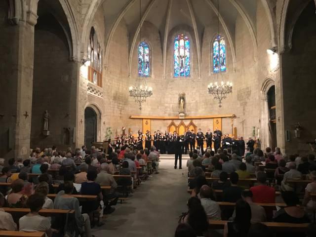 La Coral Sant Jordi inaugura el 7è Juliol de Música i Poesia de Balaguer