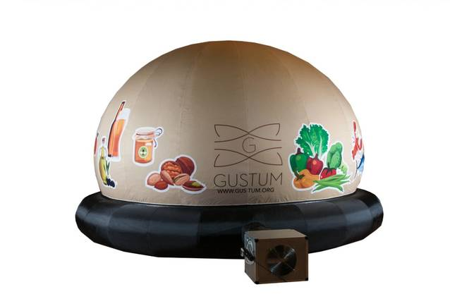 La cúpula Gustum Arriba a Balaguer