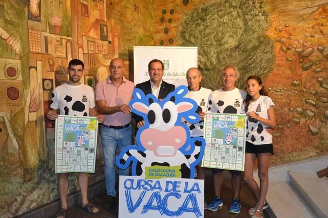 La Cursa de la Vaca de Vallfogona de Balaguer arriba a la cinquena edició