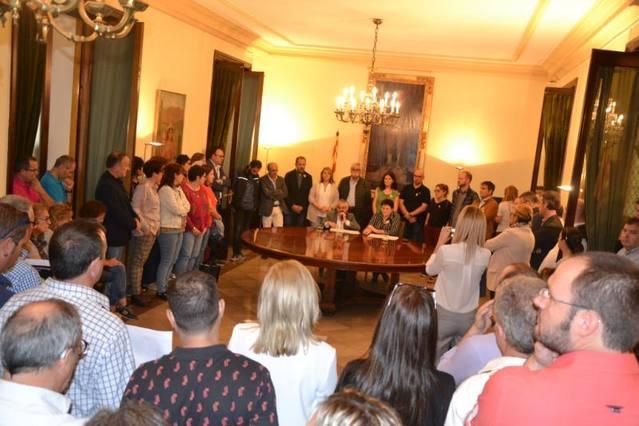 La Diputació convoca un ple extraordinari de rebuig a la sentència del Tribunal Suprem