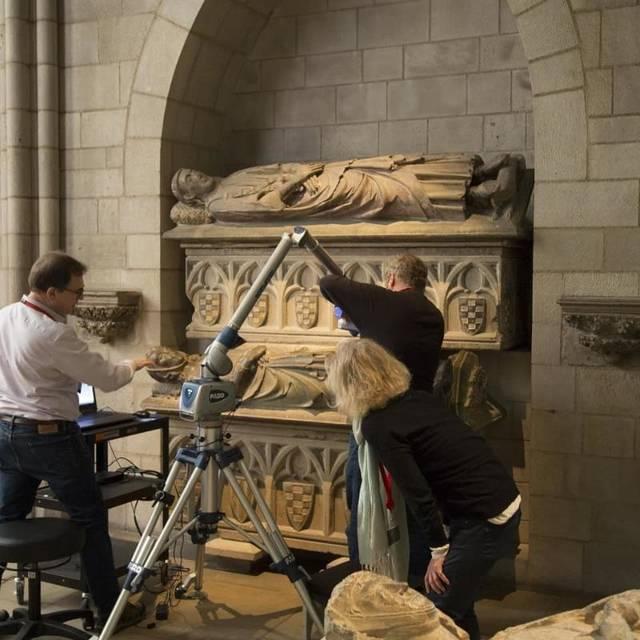La Diputació de Lleida tindrà al mes d'abril la digitalització dels sepulcres dels comtes d'Urgell