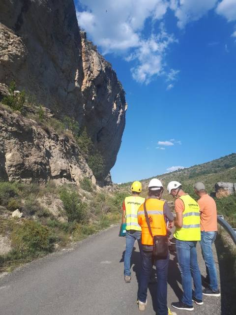 La Diputació estudia la remodelació del camí municipal a Mont-rebei
