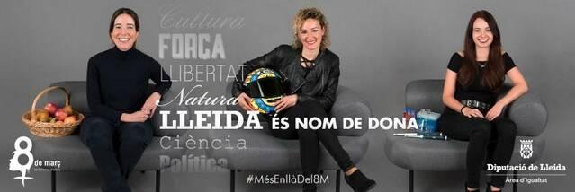 La Diputació impulsa la campanya 'Nom de dona' en favor de la igualtat de gènere
