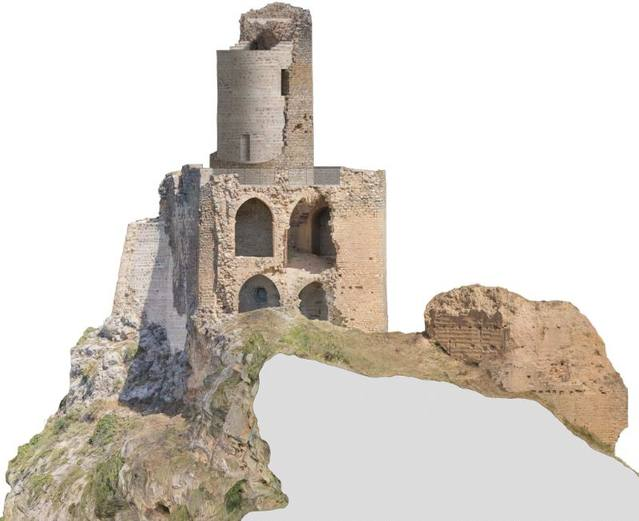 La Diputació inicia les obres de restauració del Castell d'Alòs de Balaguer