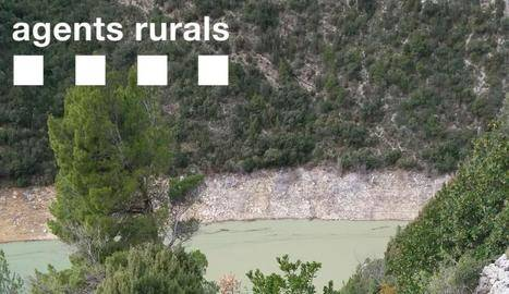 Imatge de l'allau del gener al congost de Mont-rebei / AGENTS RURALS