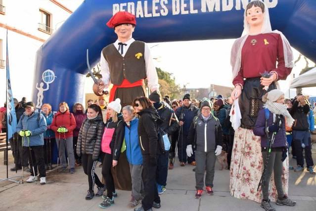 La Marxa de la Boira de Penelles aplega 800 participants
