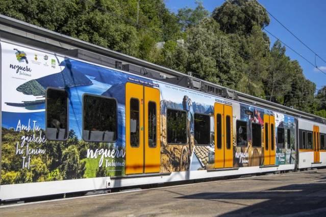 La Noguera, a la campanya de promoció turística de Ferrocarrils de la Generalitat de Catalunya