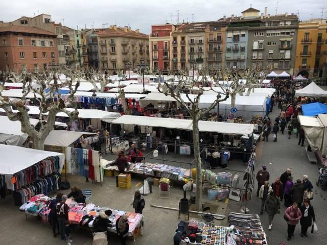 La Paeria de Balaguer obre una consulta pública per conèixer l'opinió de la ciutadania sobre l'ordenança que regularà els mercats