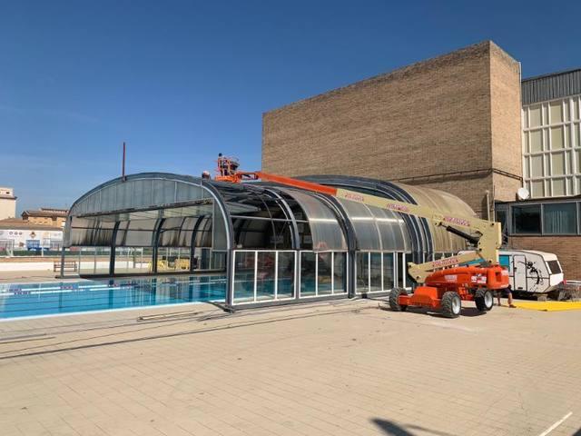 La piscina coberta prepara una nova temporada
