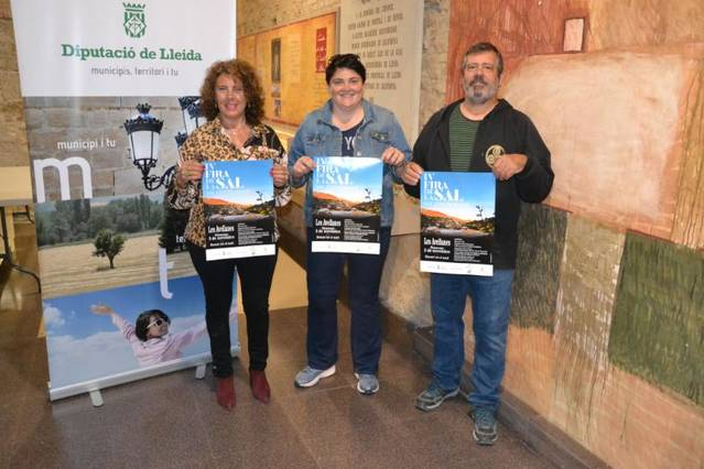 La sal torna a ser protagonista en la quarta edició de la fira del municipi de les Avellanes