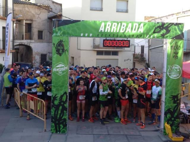 La Trail Montpedró corona Óscar Monclús i Paula Mata i aplega 300 participants