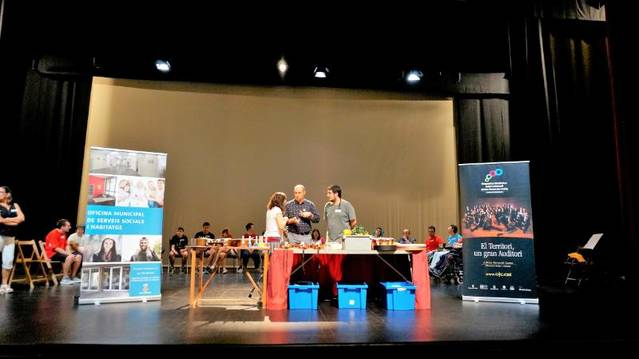 L'Ajuntament de Balaguer i Apropa Cultura realitzen el segon taller de musicoteràpia