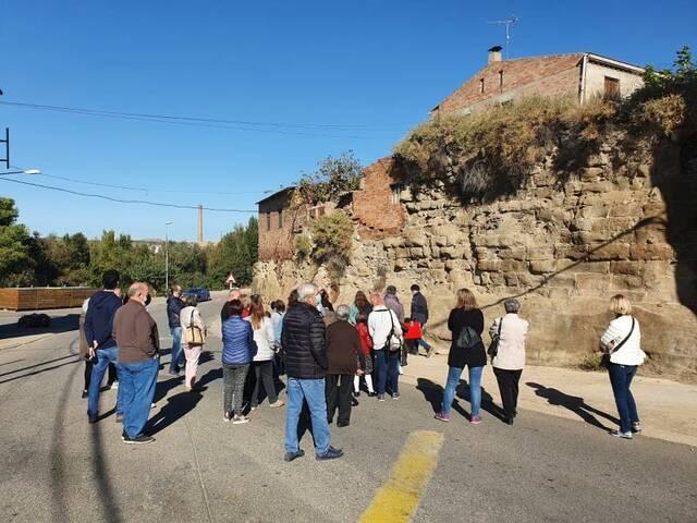 L'Ajuntament de Térmens inicia les actuacions per recuperar la muralla