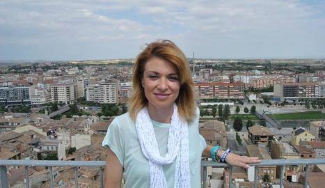 L'alcaldessa de Camarasa, Elisabet Lizaso, vicepresidenta de l'AMI