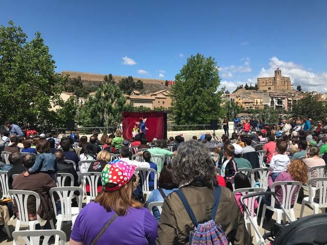 L'Assolellats fa parada al parc dels Països Catalans