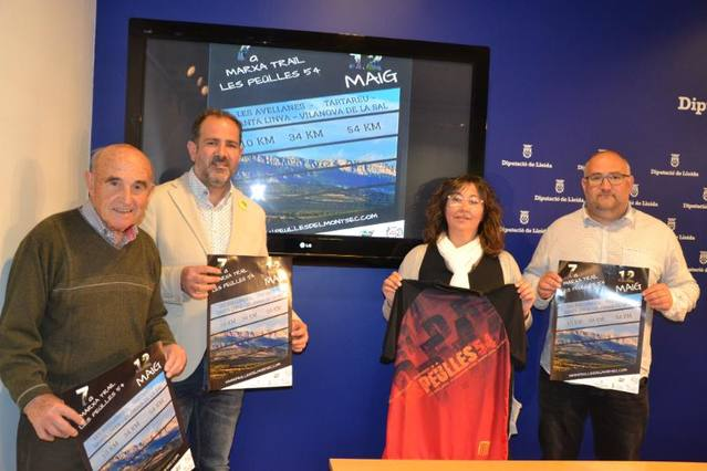 Les Avellanes i Santa Linya organitza la setena edició de la Marxa Trail 'Les Peülles 54'