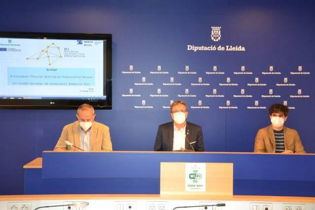 Les comarques de Lleida introdueixen el projecte EUPAP, un model europeu de prescripció de l'exercici físic