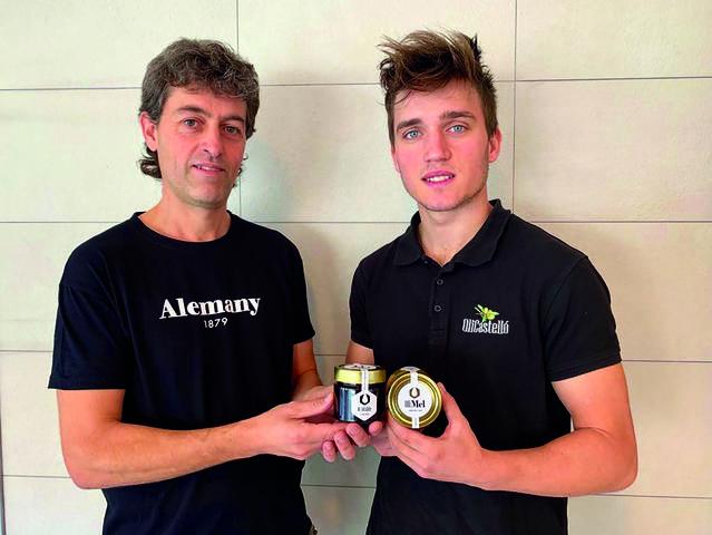 Les empreses Torrons i Mel Alemany i OliCastelló presenten l''OliMel', l'alternativa natural al pa amb mantega i sucre elaborat amb amb oli d'oliva i mel a la Fira del Torró d'Agramunt