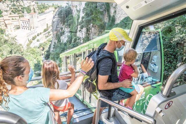 Les explotacions turístiques de Ferrocarrils tanquen la temporada d'estiu amb un 29% més de visitants que l'any passat