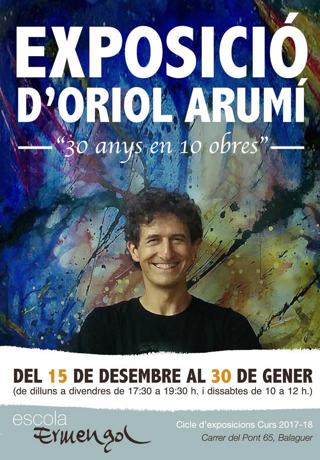 """L'Escola Ermengol acollirà l'exposició """"30 anys en 10 obres"""" d'Oriol Arumí"""