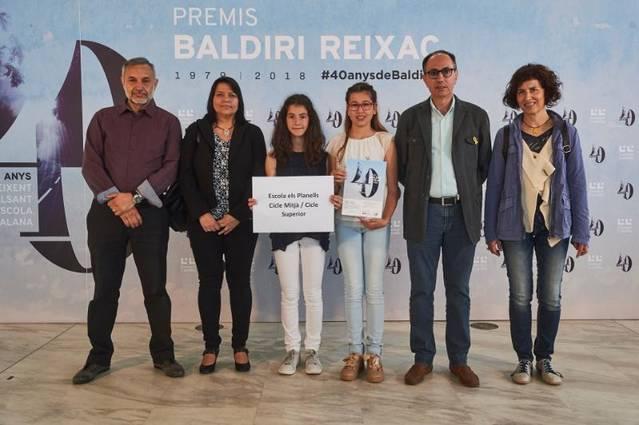 L'Escola i l'Institut d'Artesa de Segre, guardonats als premis Baldiri Reixac